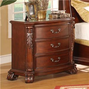 Lifestyle 9642 king bedroom group ivan smith furniture for Ivan smith furniture