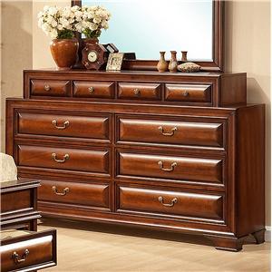 Lifestyle b1172 queen bedroom group ivan smith furniture for Ivan smith furniture