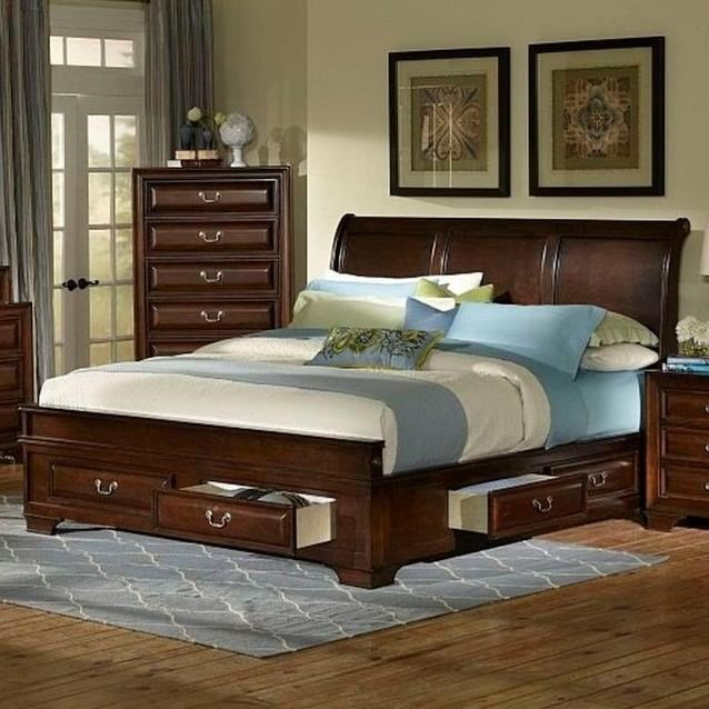 Lifestyle C2192 Queen Storage Bed Item Number C2192R QX0 C2192R QTG