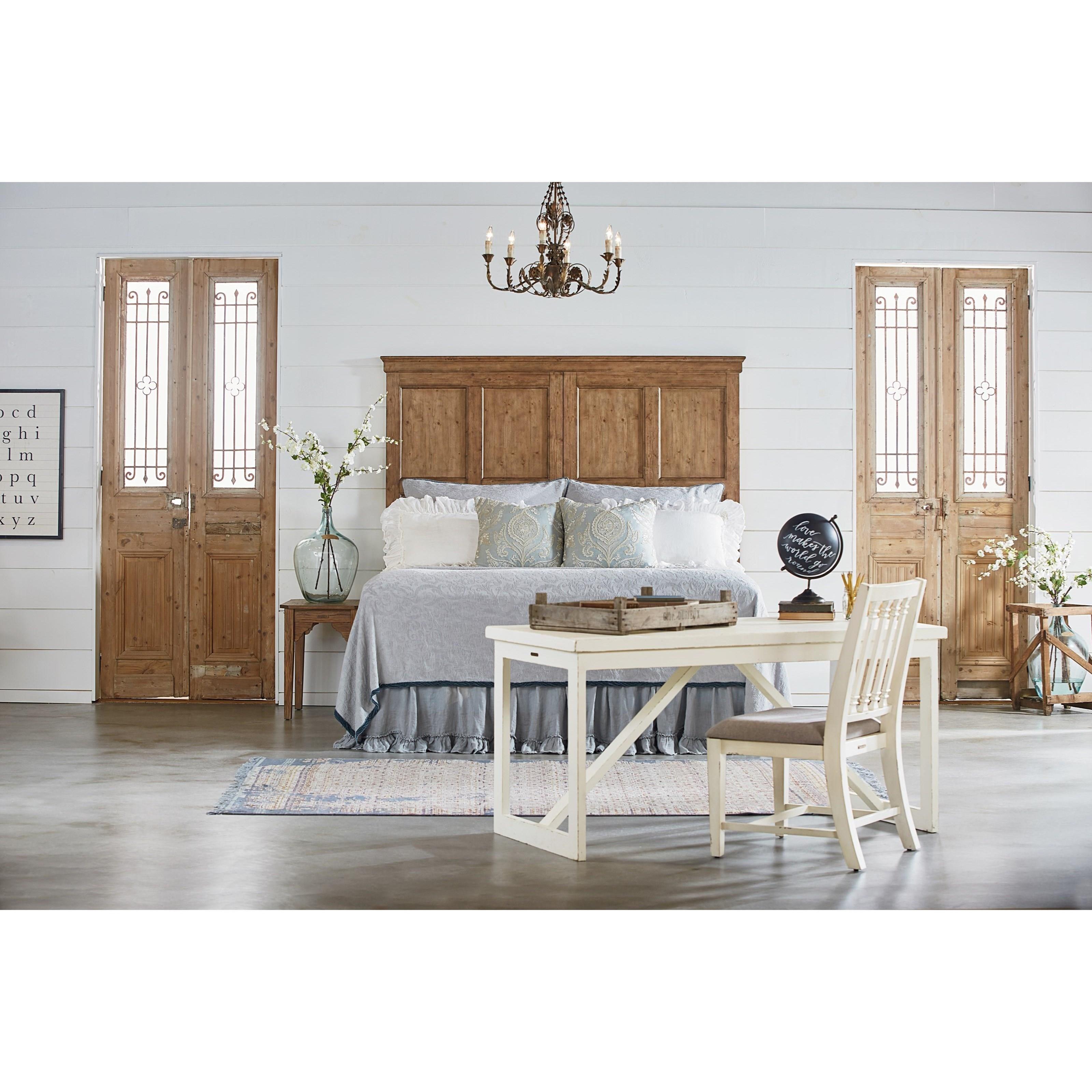 Magnolia home by joanna gaines farmhouse end table with for Magnolia farmhouse