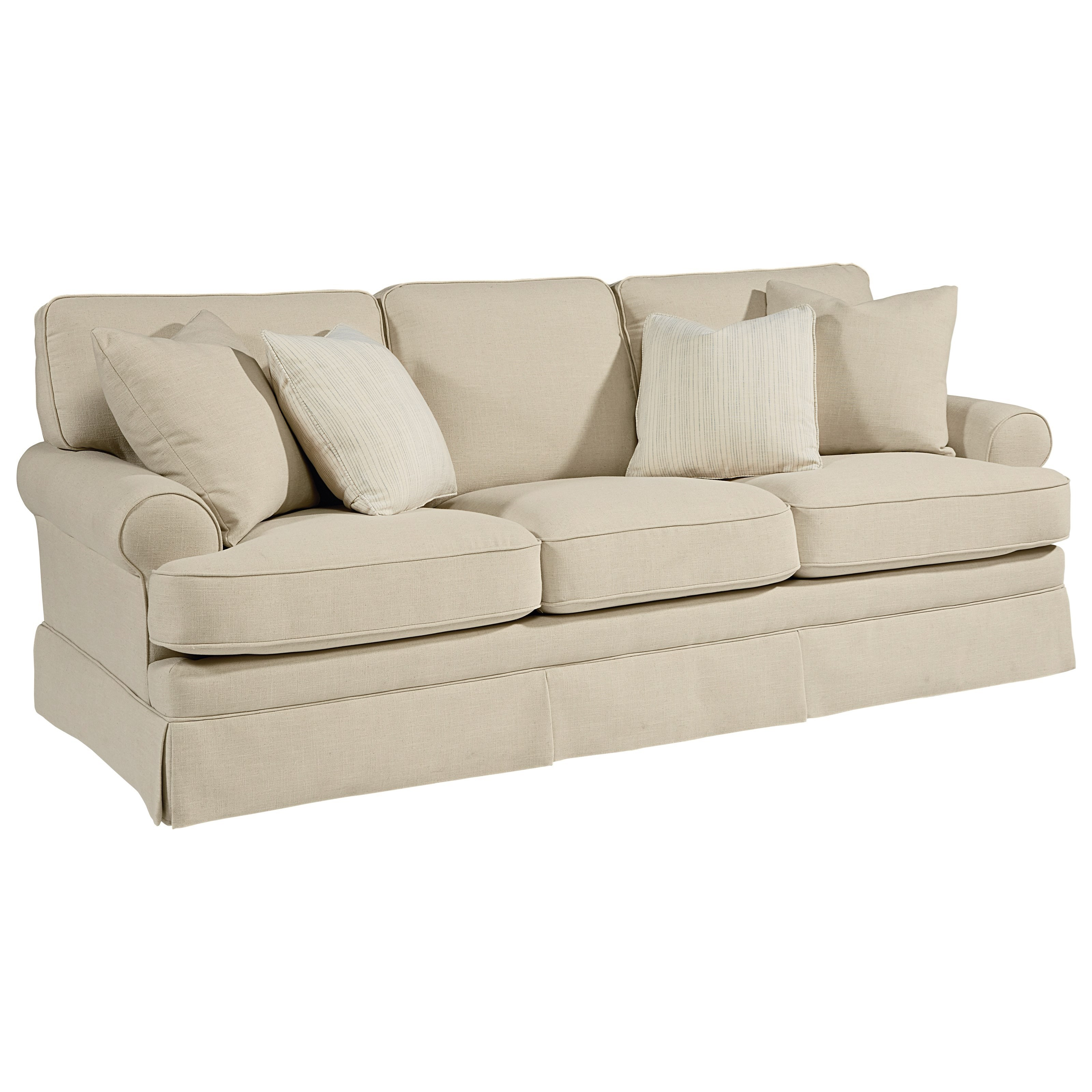 Magnolia home by joanna gaines heritage sofa miskelly for Divan chair