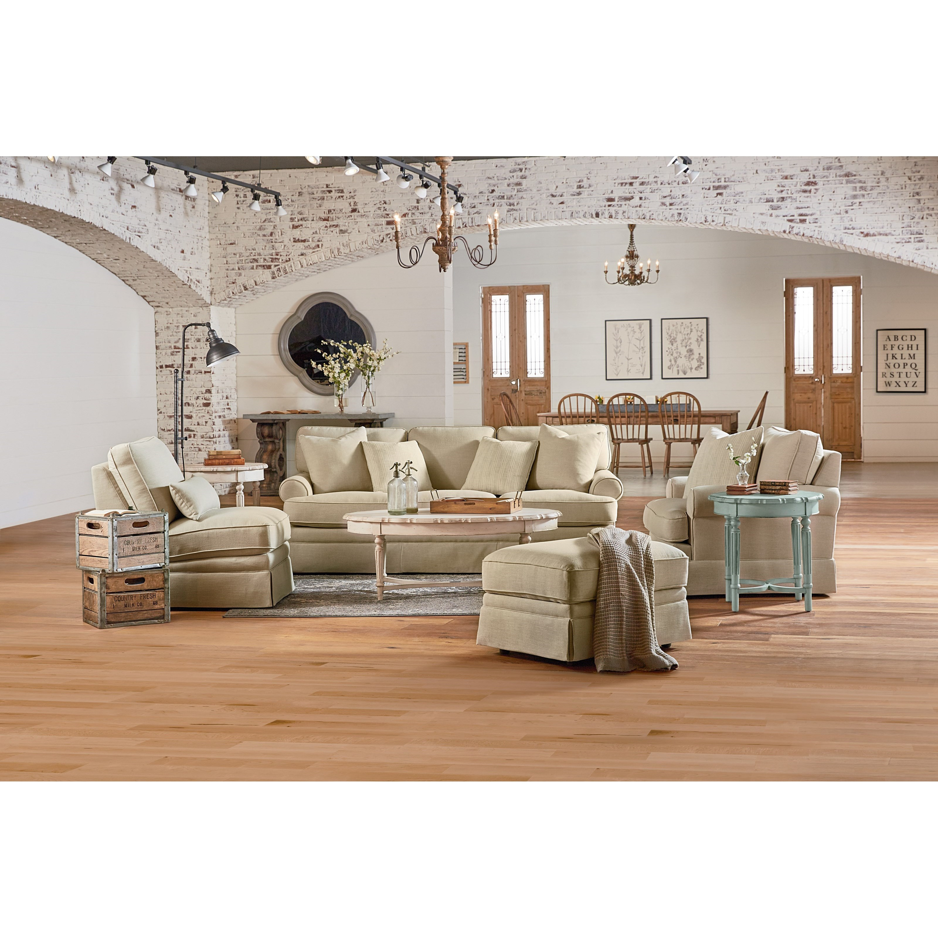 Magnolia Home By Joanna Gaines Heritage Living Room Group Olinde 39 S Furniture Upholstery Group