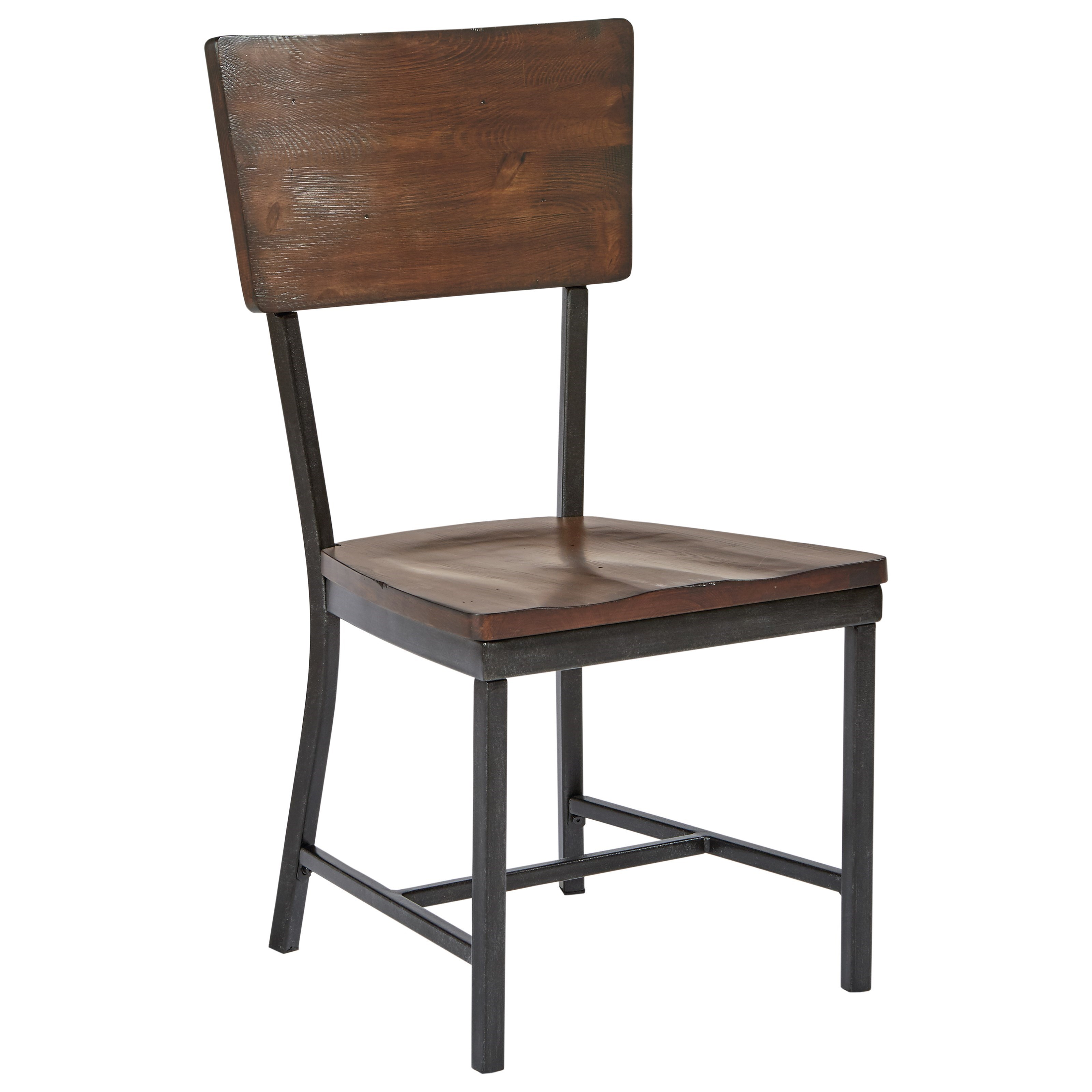 Magnolia home by joanna gaines industrial rustic side for Ivan smith furniture