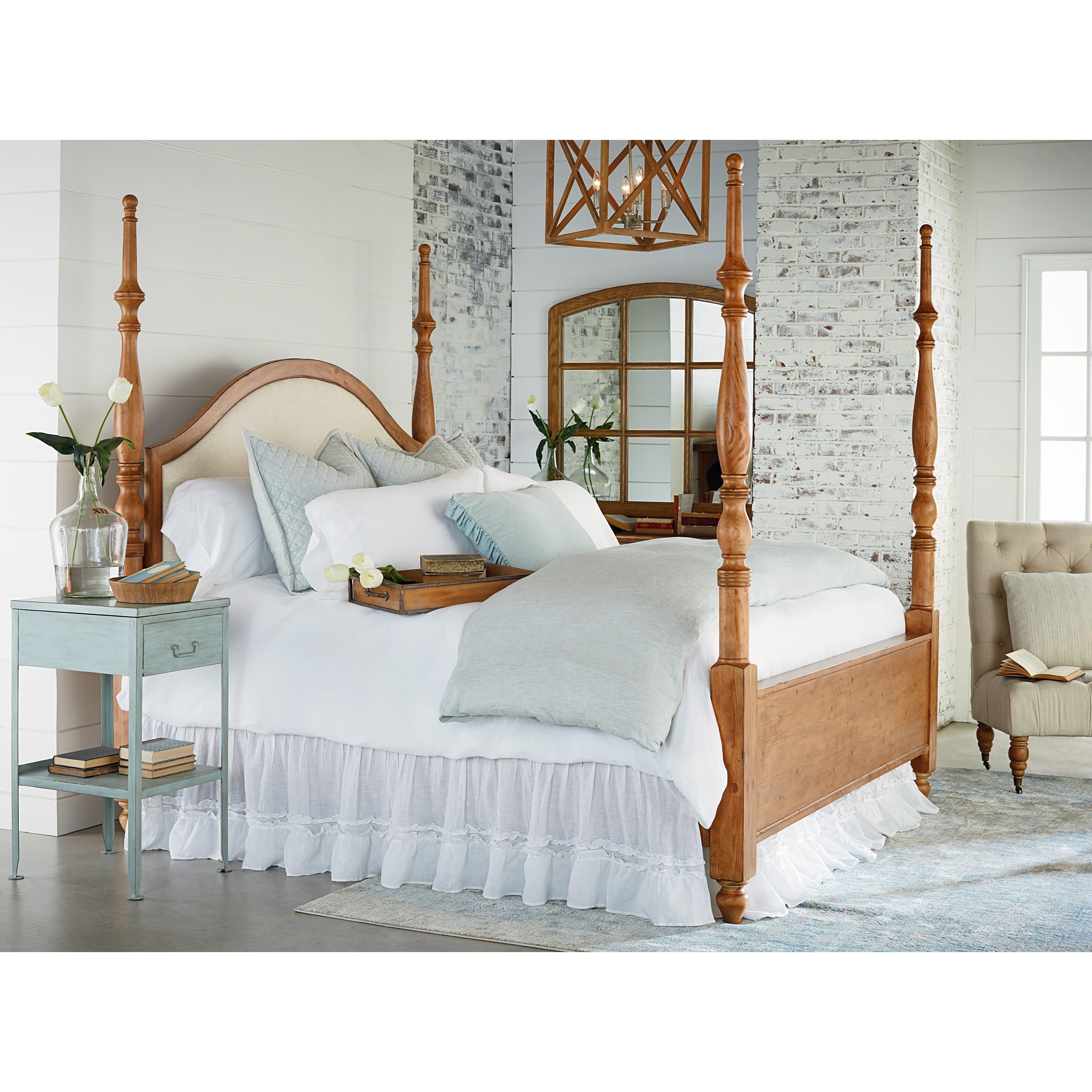 Magnolia Home By Joanna Gaines Primitive King Bedroom Group Olinde 39 S Furniture Bedroom Groups