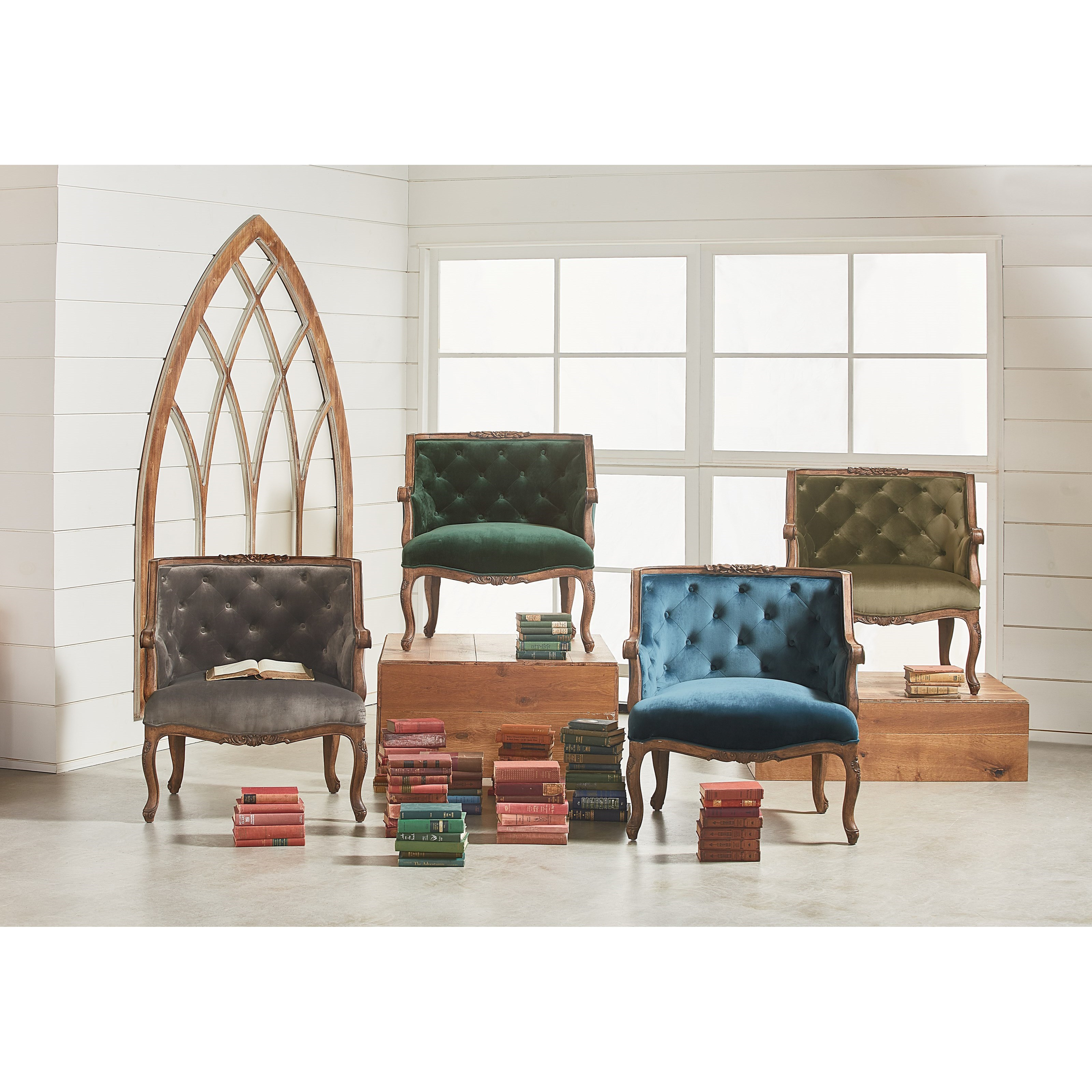 Sofa Mart Accent Chairs: Magnolia Home By Joanna Gaines Accent Chair Bloom