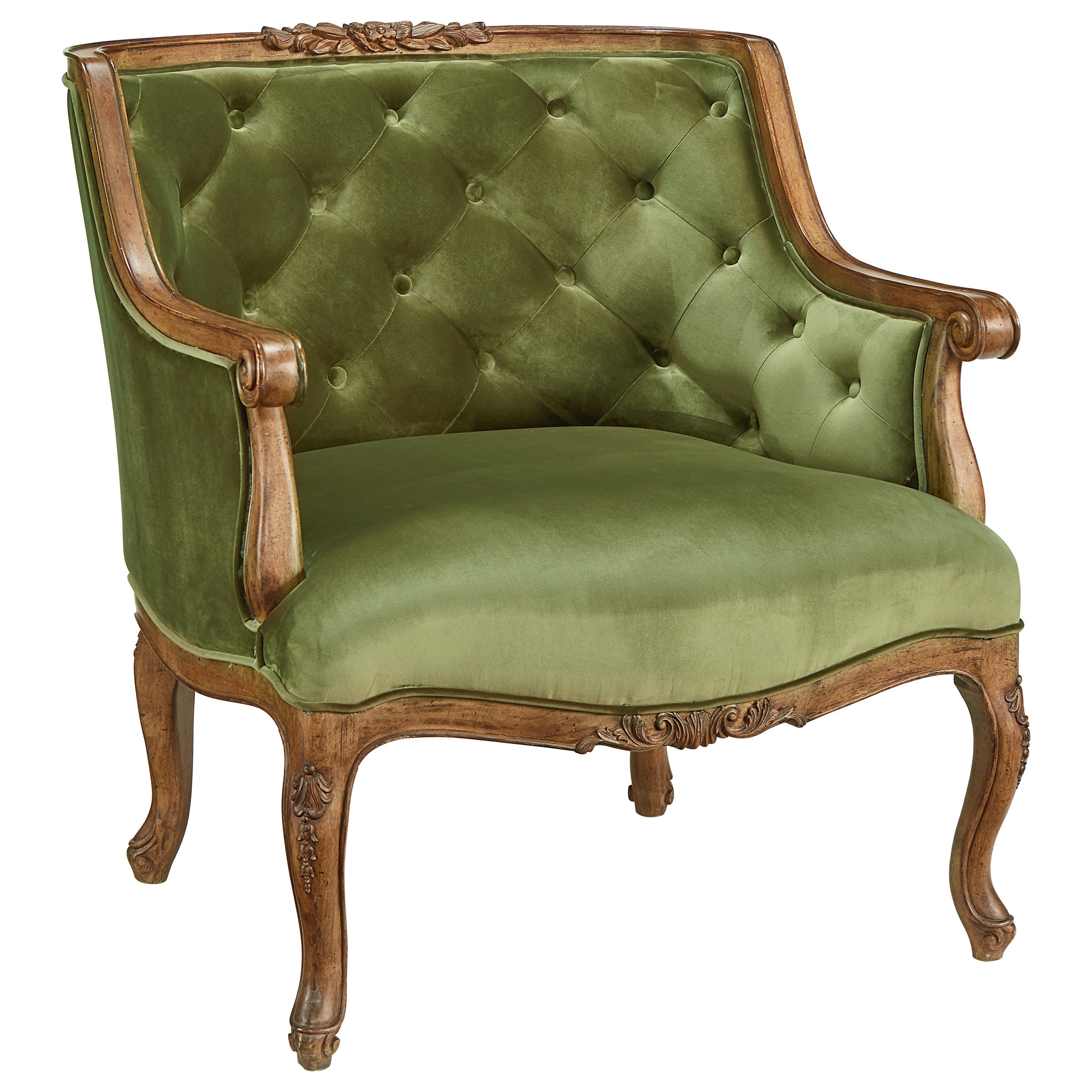 Magnolia home by joanna gaines accent chair 80612040 bloom for Upholstered accent chairs cheap