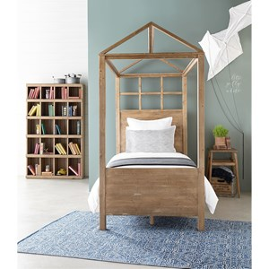 Magnolia home by joanna gaines boho playhouse twin bedroom for Bedroom furniture in zanesville ohio