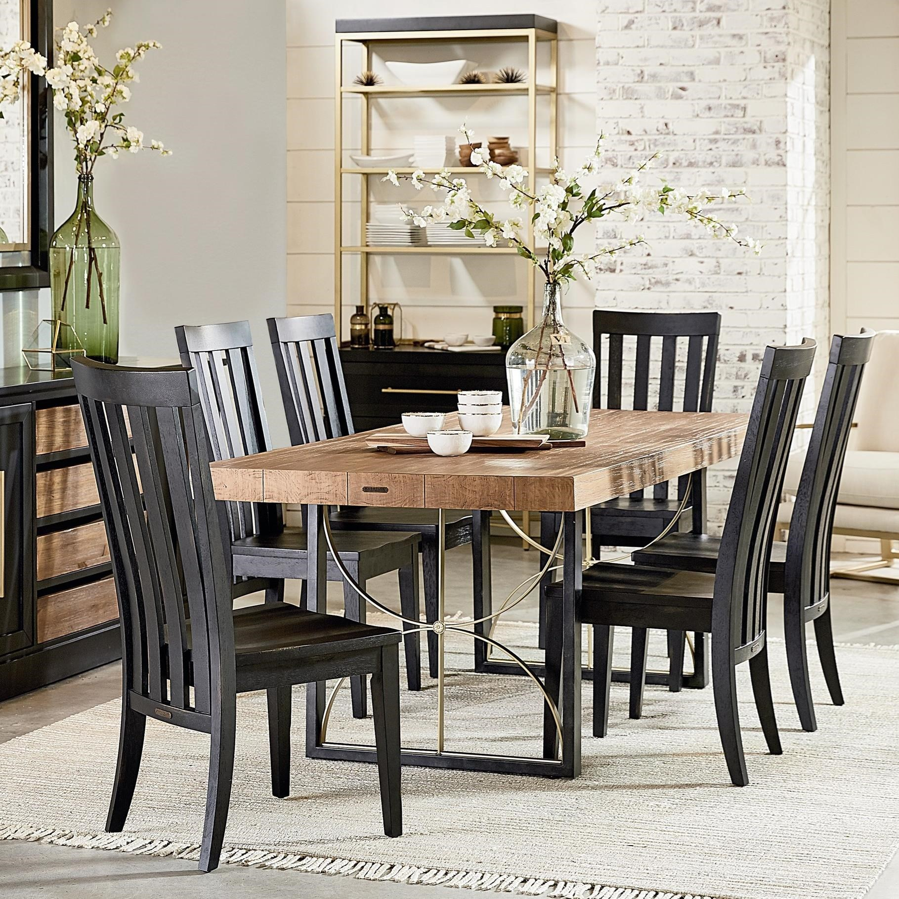Magnolia home by joanna gaines modern 7 39 contemporary for Magnolia dining table