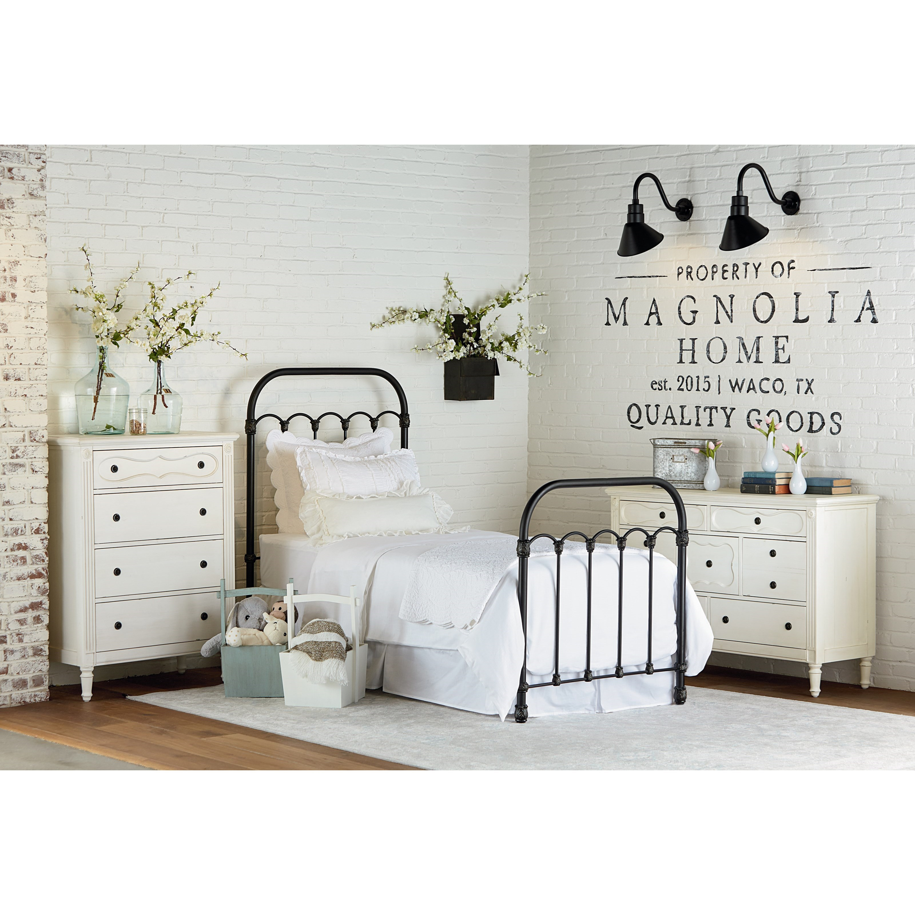 Magnolia Home By Joanna Gaines Primitive Full Youth Bedroom Group Olinde 39 S Furniture Bedroom