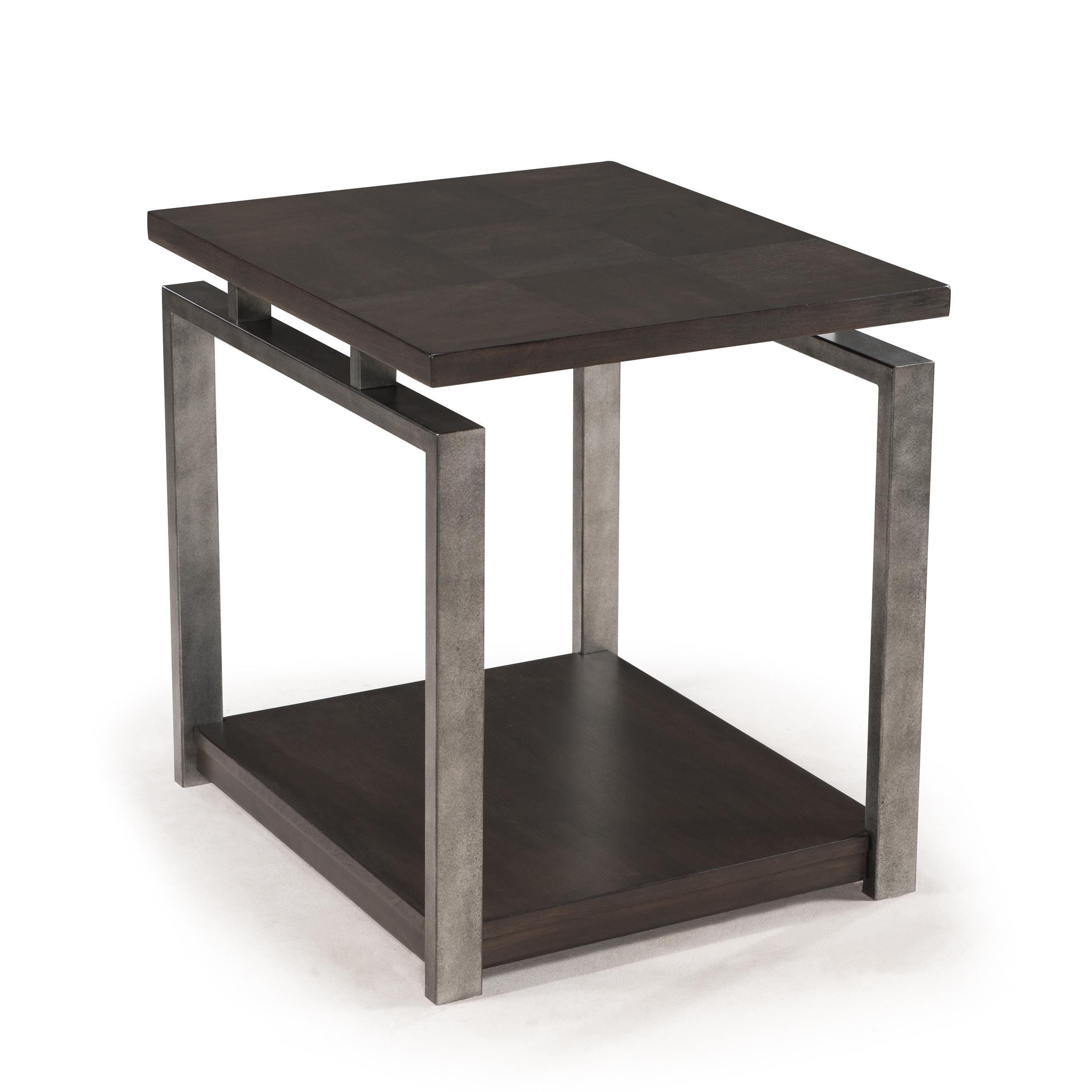 Flatstone contemporary rectangular end table morris home for Morris home