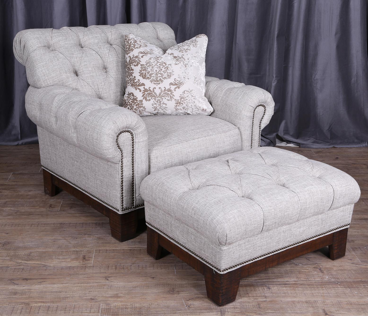 Fabulous Magnussen Home Caitlyn Transitional Button-Tufted Chair and  HZ73