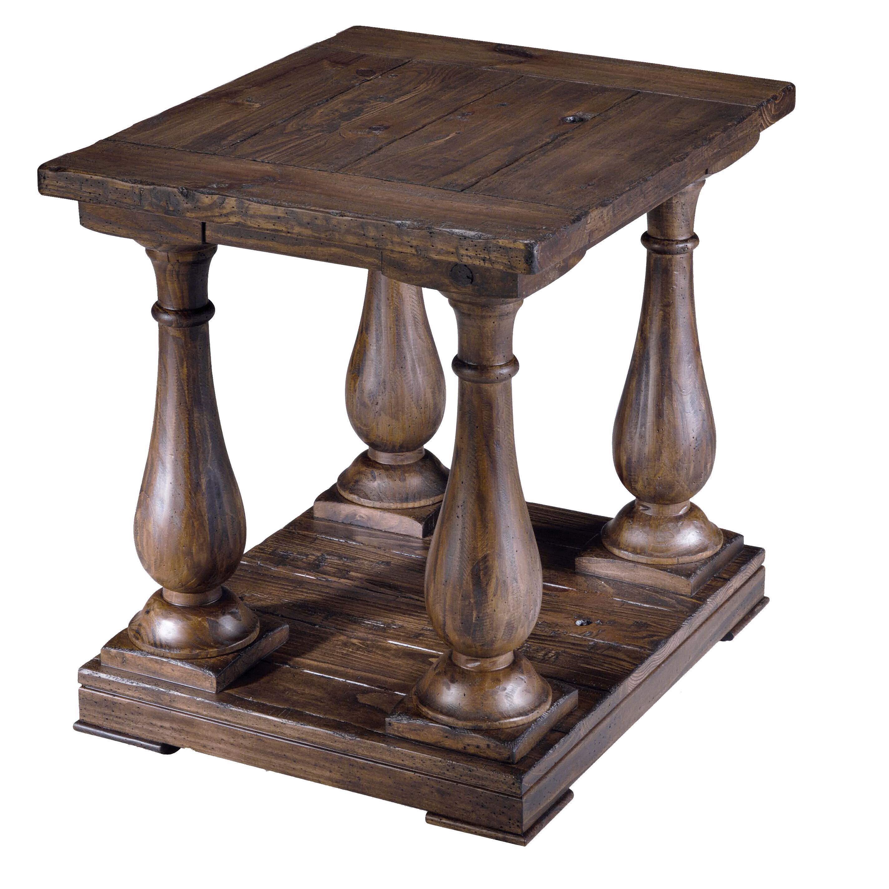 Magnussen Home Densbury Rectangular Column End Table