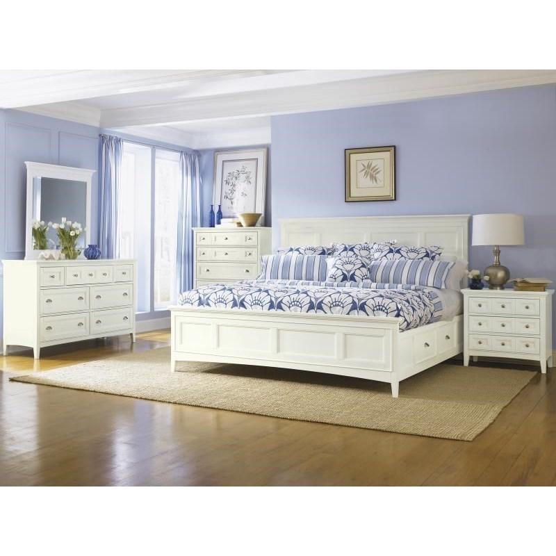 Magnussen home kentwood queen bedroom group dunk - Bright house bedroom furniture ...
