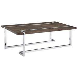 Hooker Furniture Sorella Rectangle Cocktail Table Stoney