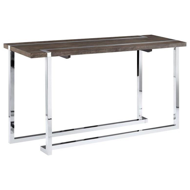 Magnussen home kieran t4215 rectangular sofa table for Sofa table rules