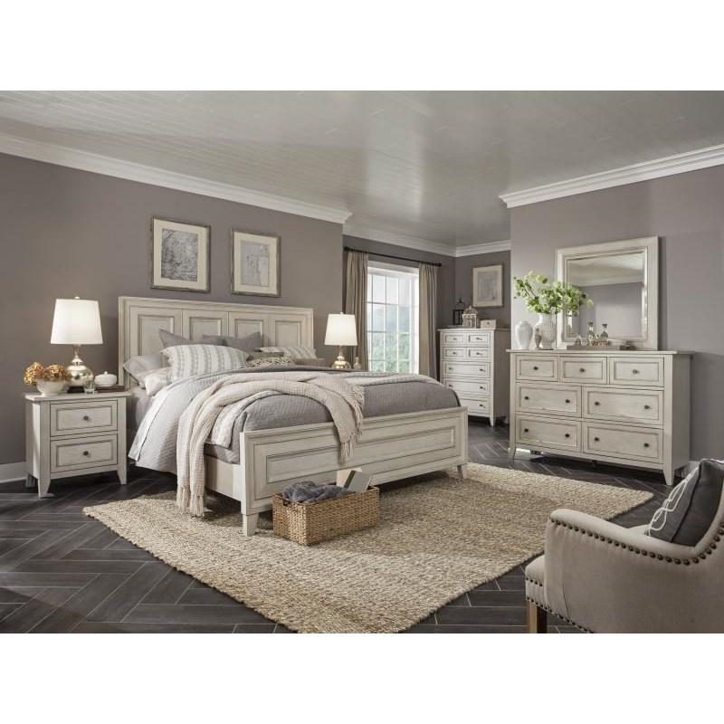 Magnussen home raelynn queen bedroom group stoney creek for Stoney creek bedroom set