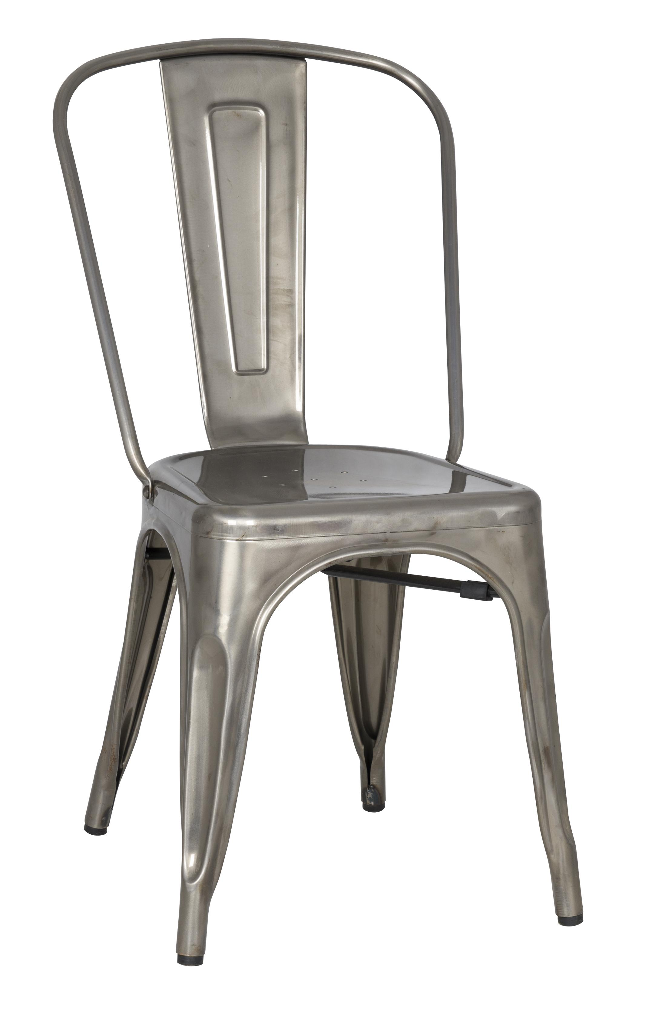 stovall vintage metal dining chair