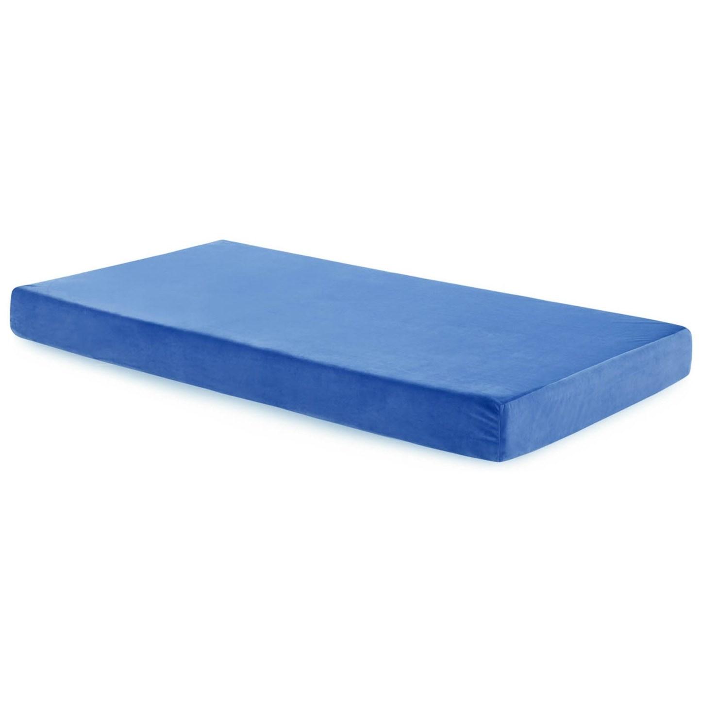 malouf brighton bb06tt30gf bl twin youth gel memory foam mattress nassau furniture mattresses. Black Bedroom Furniture Sets. Home Design Ideas