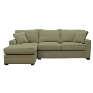 McCreary Modern 0693 2 Piece Sectional Sofa with Left Arm