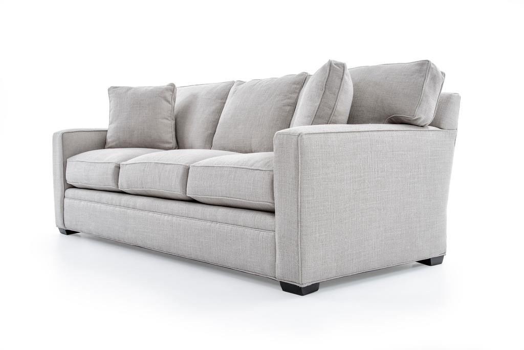 Freestyle Collections 0693 0693 Gab Trinidad Putty Contemporary Stationary Sofa With Track Arms