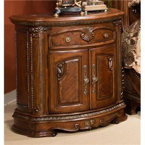 Michael amini bella veneto king bed ivan smith furniture for Ivan smith furniture