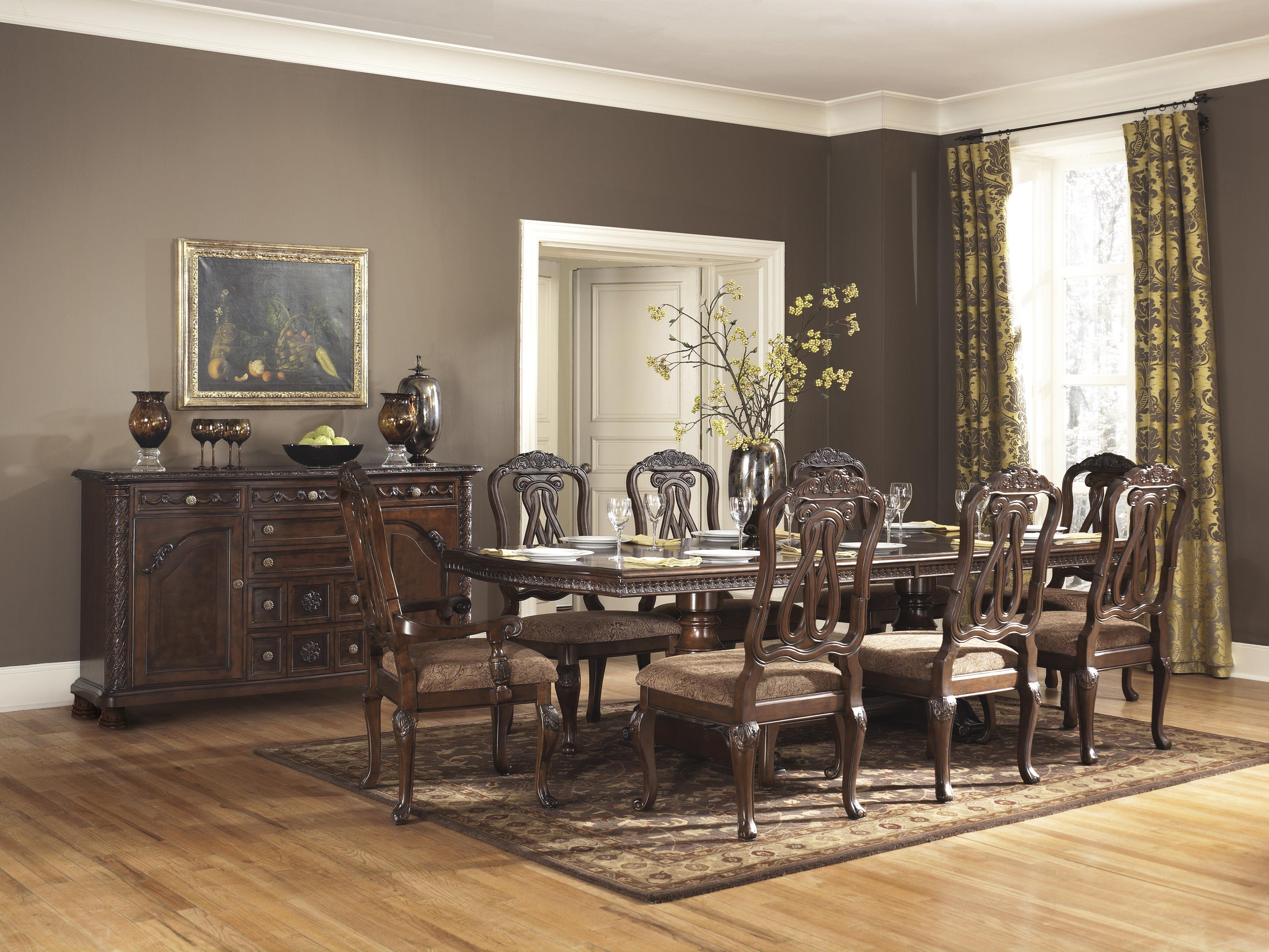 formal dining room group item number d553 dining room group 11 - Dining Room Furniture Denver Co