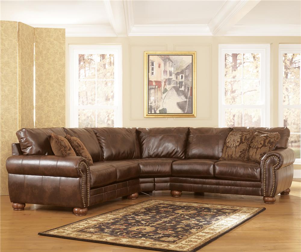 Signature Design by Ashley Furniture DuraBlend - Antique ...