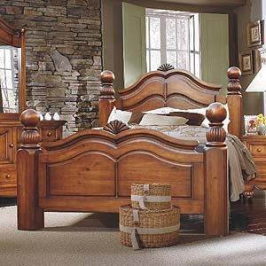 brazil furniture group lumberland post bed with large