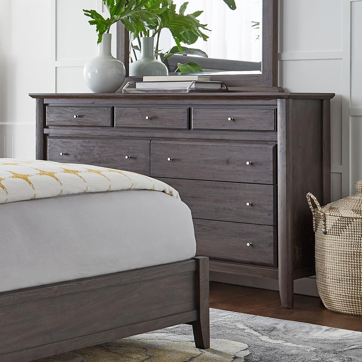 Modus International City Ii Nine Drawer Dresser Rife 39 S Home Furniture Dressers