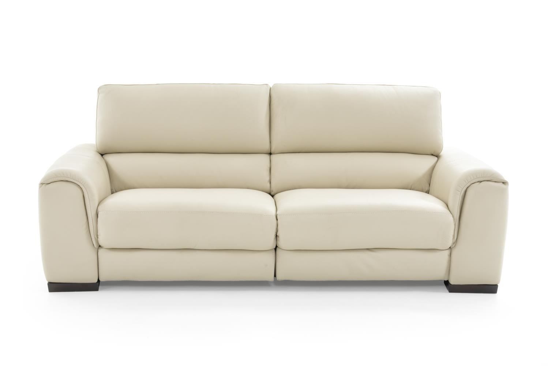 Natuzzi editions davide b969 446 cream power reclining for Natuzzi sofa