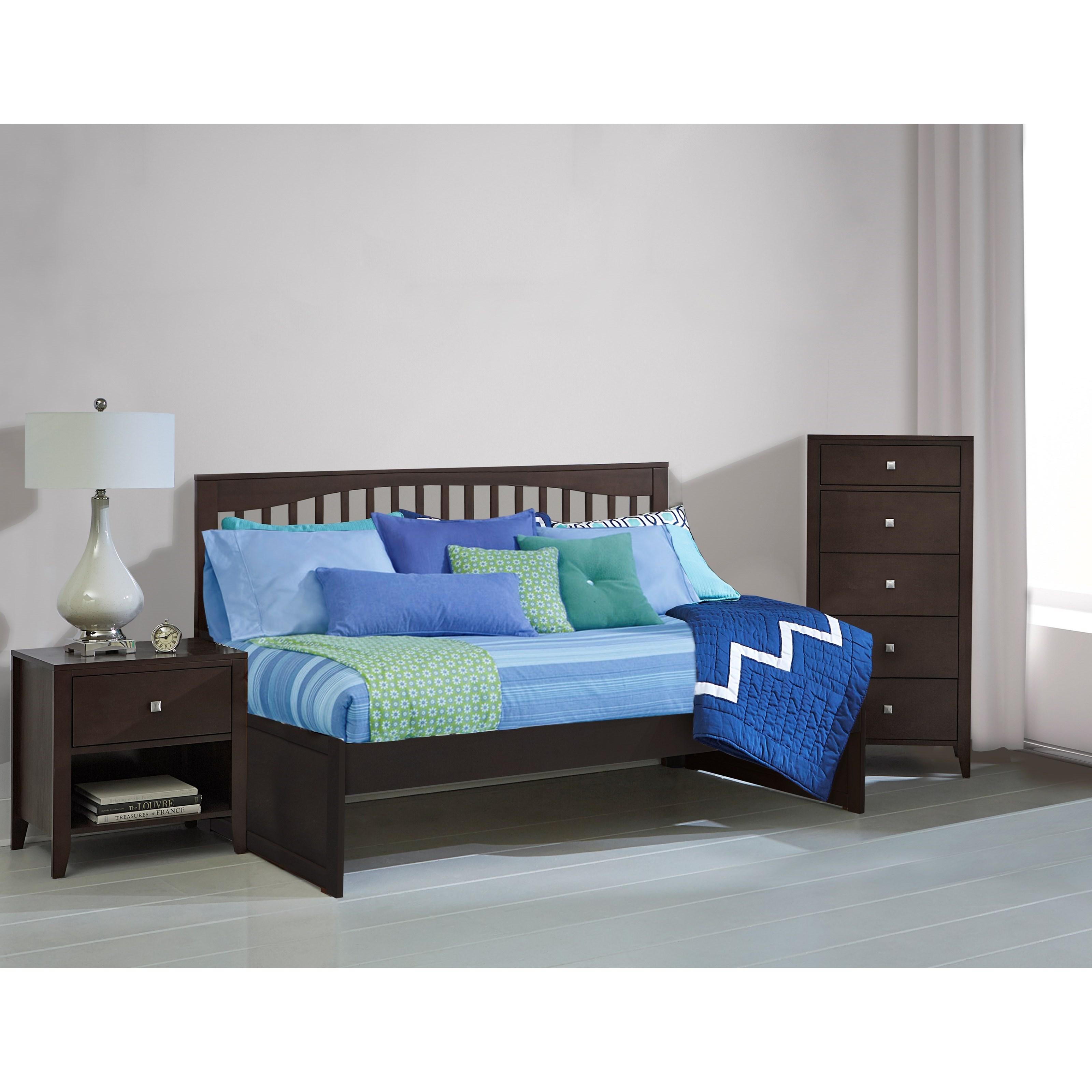 Ne kids pulse mission twin daybed stoney creek furniture for Stoney creek bedroom set