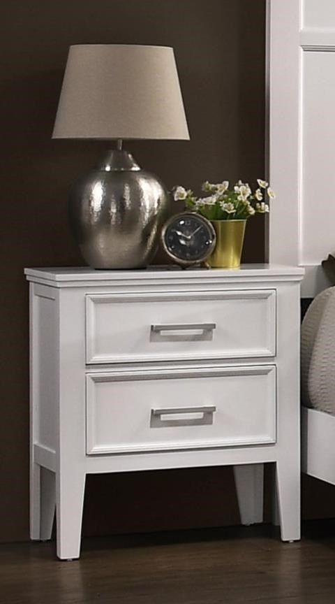 Andover Nightstand by New Classic at Wilson's Furniture