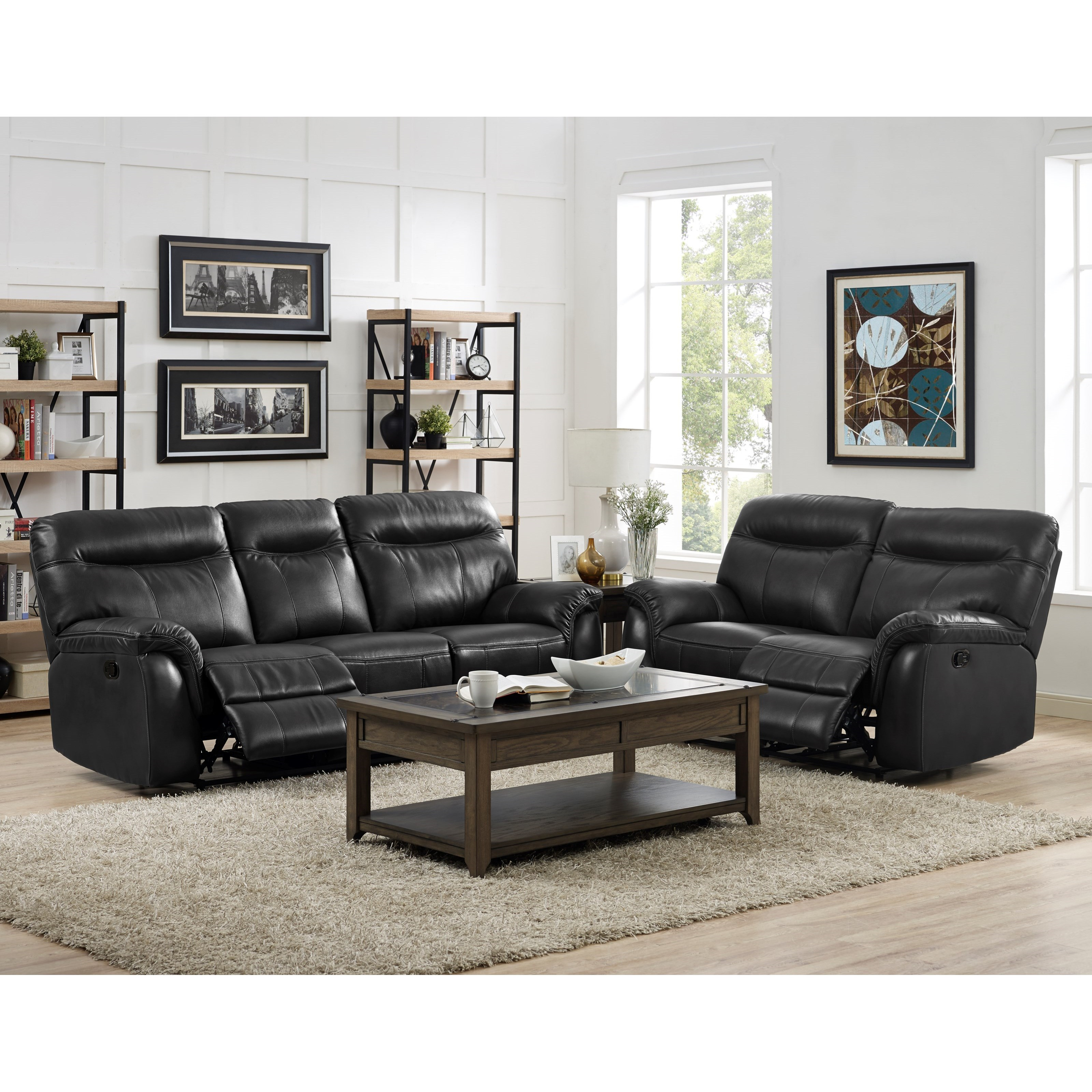 New classic atlas power reclining living room group del for Living room furniture groups