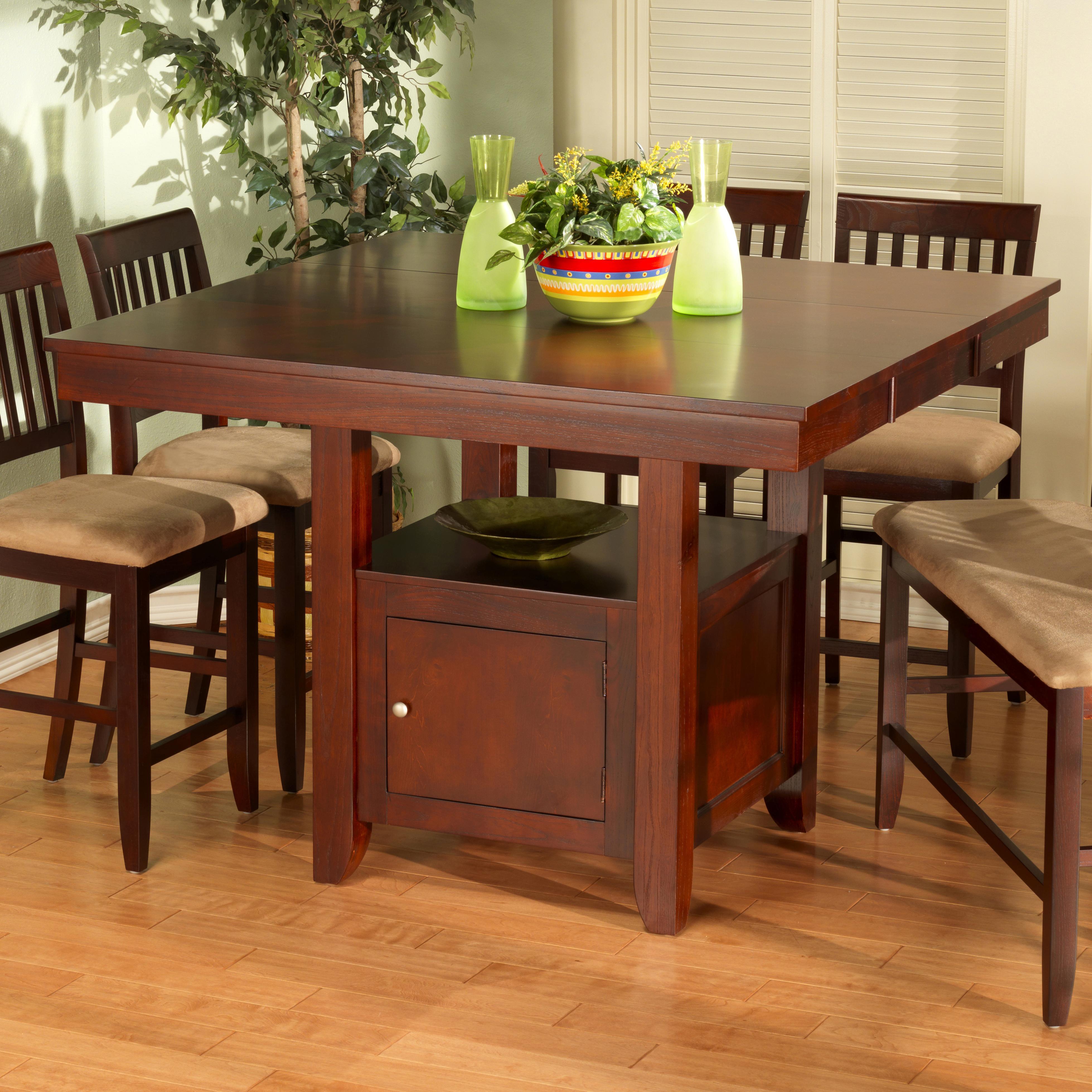 New Classic Brendan Storage Pub Table Del Sol Furniture