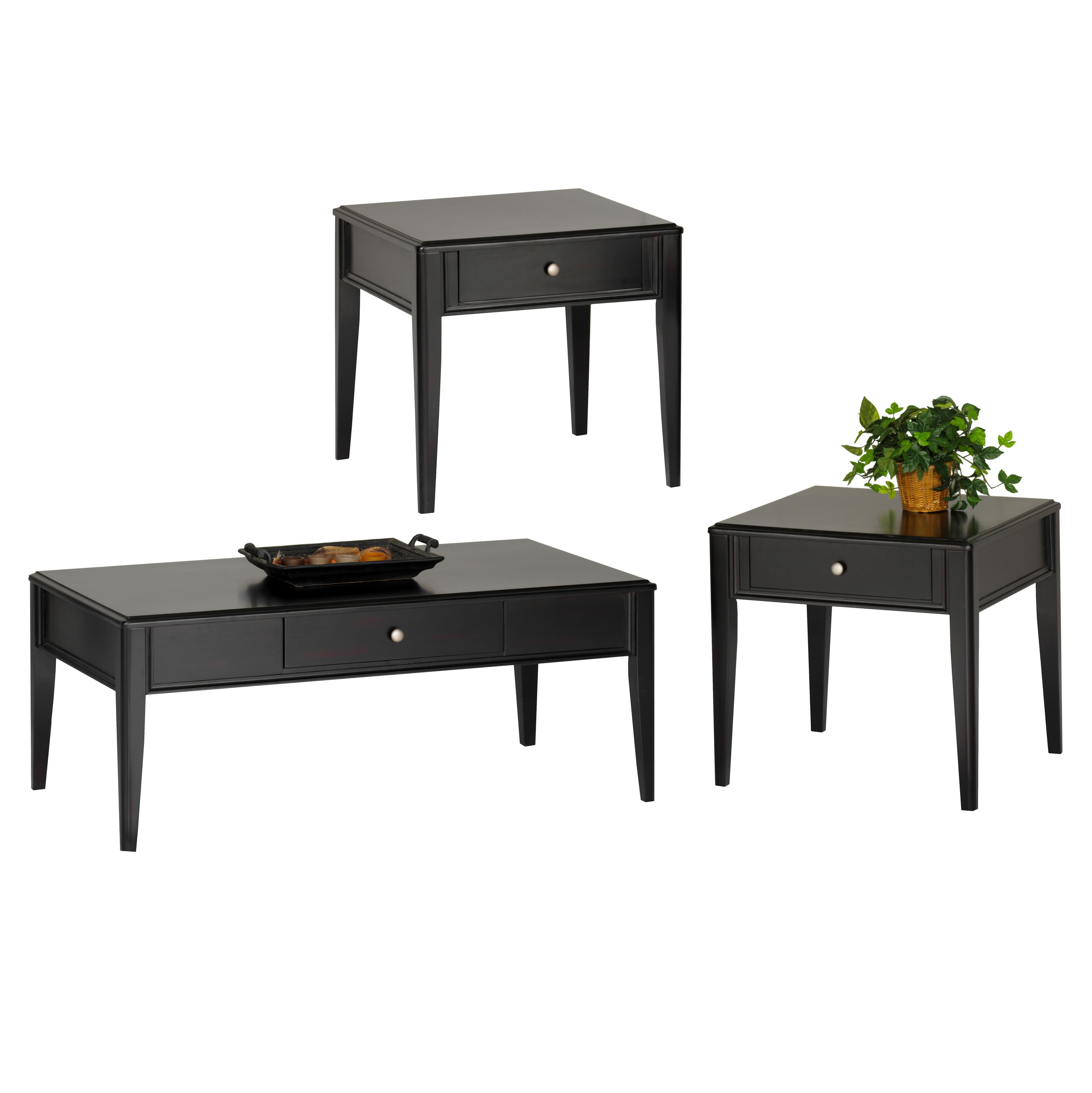 New classic east shore 3 pack occasional table group with for Accent furnitureable