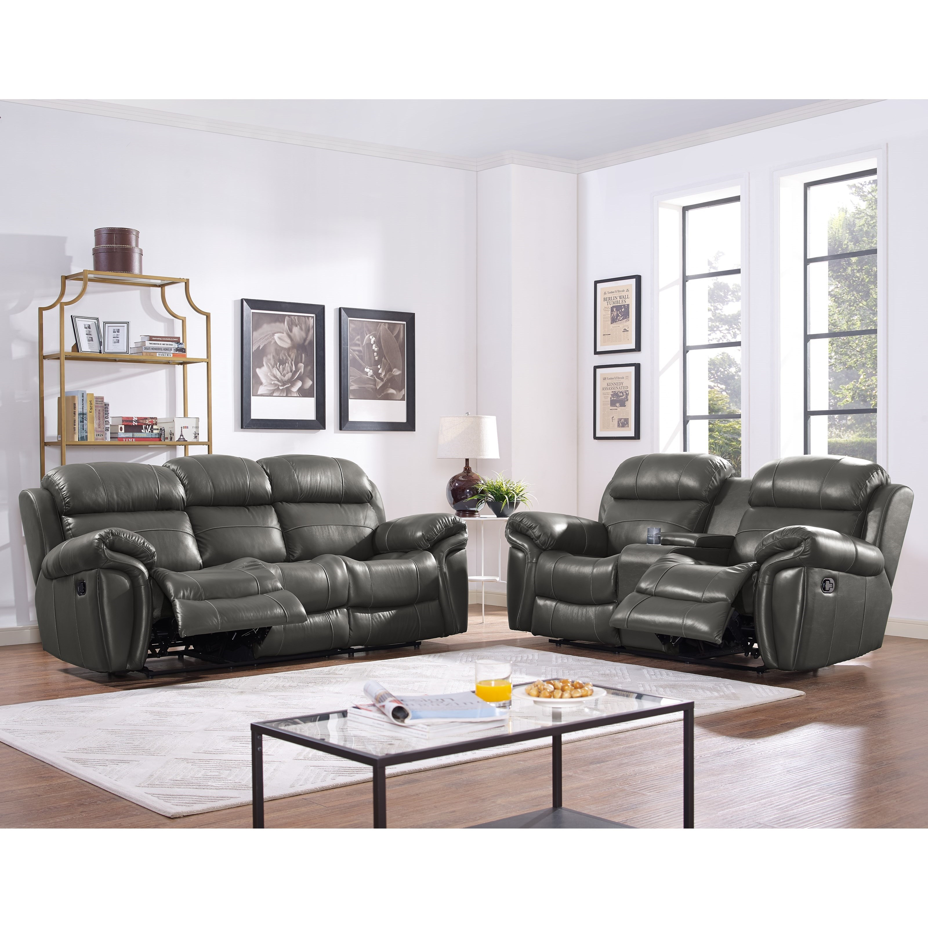 New Classic Paloma Reclining Living Room Group Adcock