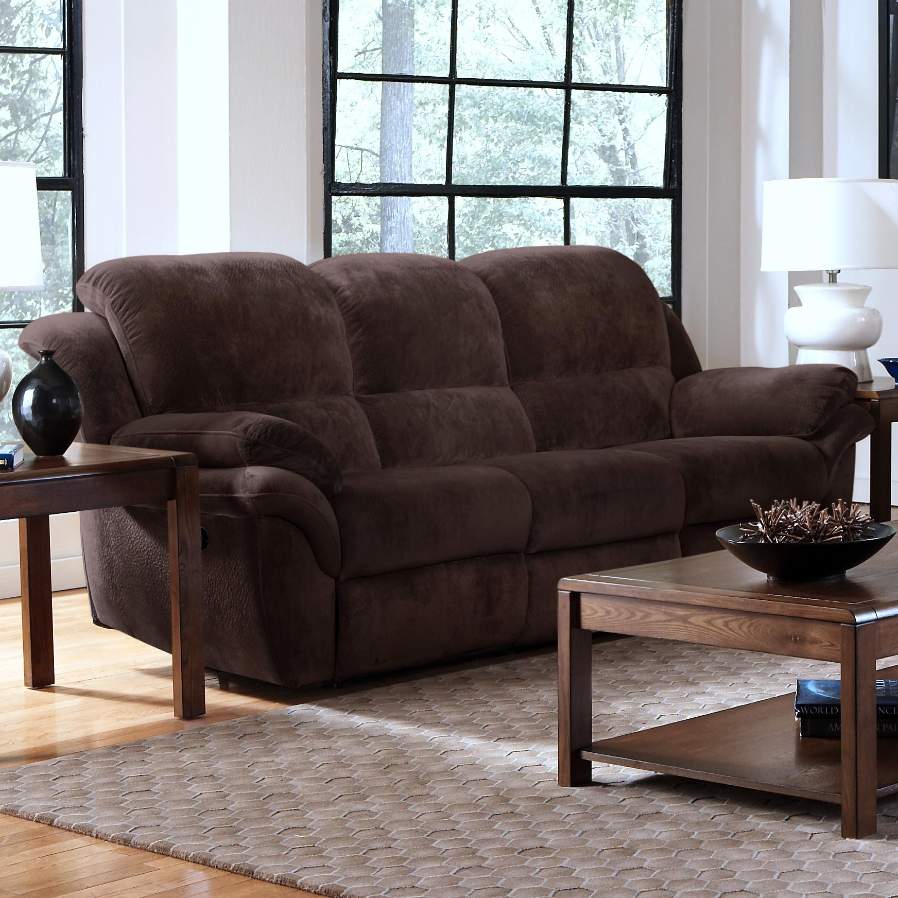 New classic pebble dual recliner motion sofa furniture for Home furniture store rochester mn