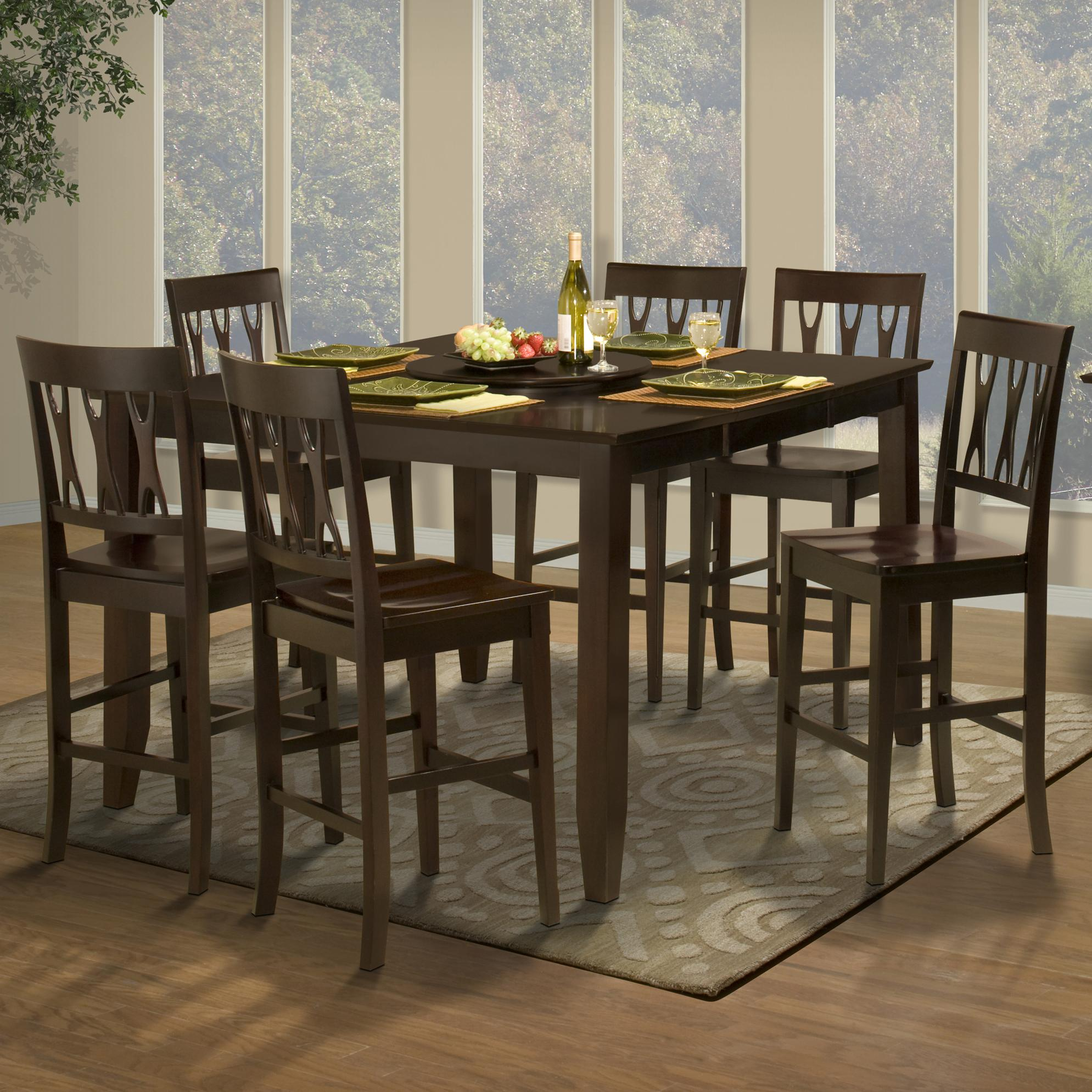 New classic style 19 45 006 11 counter height dining table for New style dining table