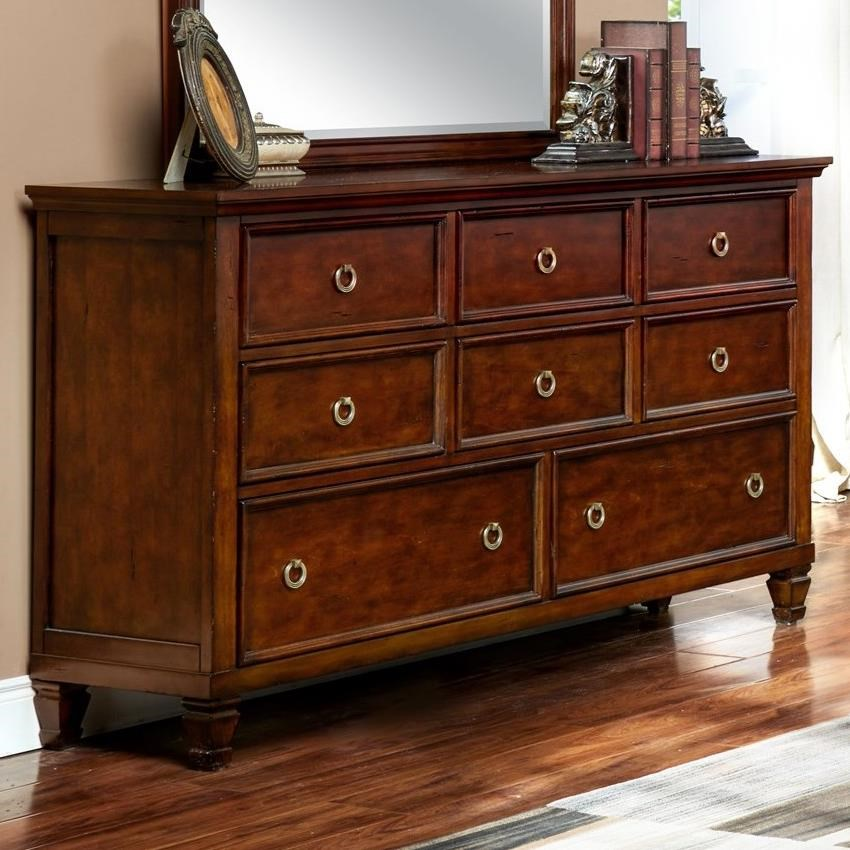 New classic tamarack 00 043 050 eight drawer dresser for Classic furniture products vadodara