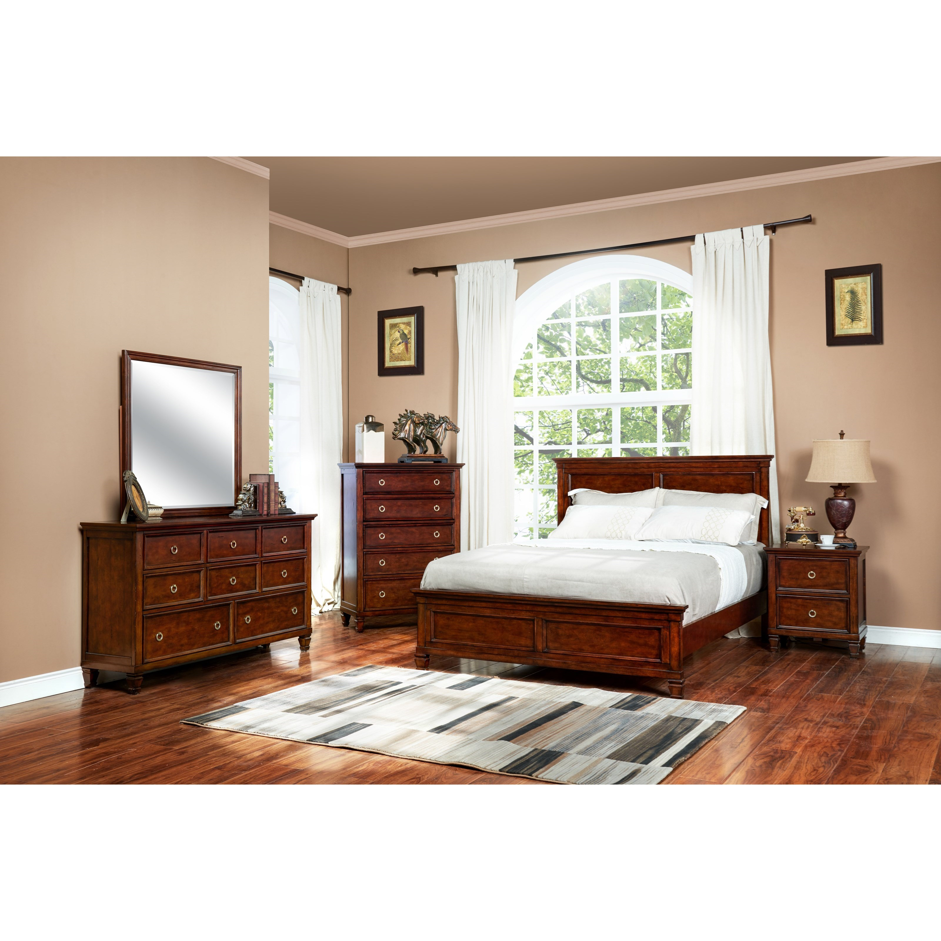 New Classic Tamarack Cal King Bedroom Group Dream Home Furniture Bedroom Groups