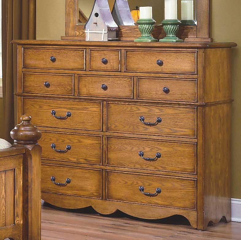 New Classic Hailey 12 Drawer Dresser Knight Furniture Mattress Dresser