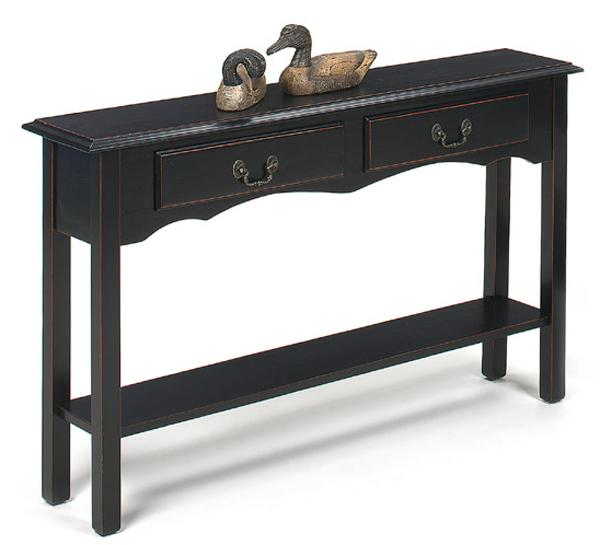null furniture 1900 international accents 1900 29b petite extra long console with 2 drawers and. Black Bedroom Furniture Sets. Home Design Ideas