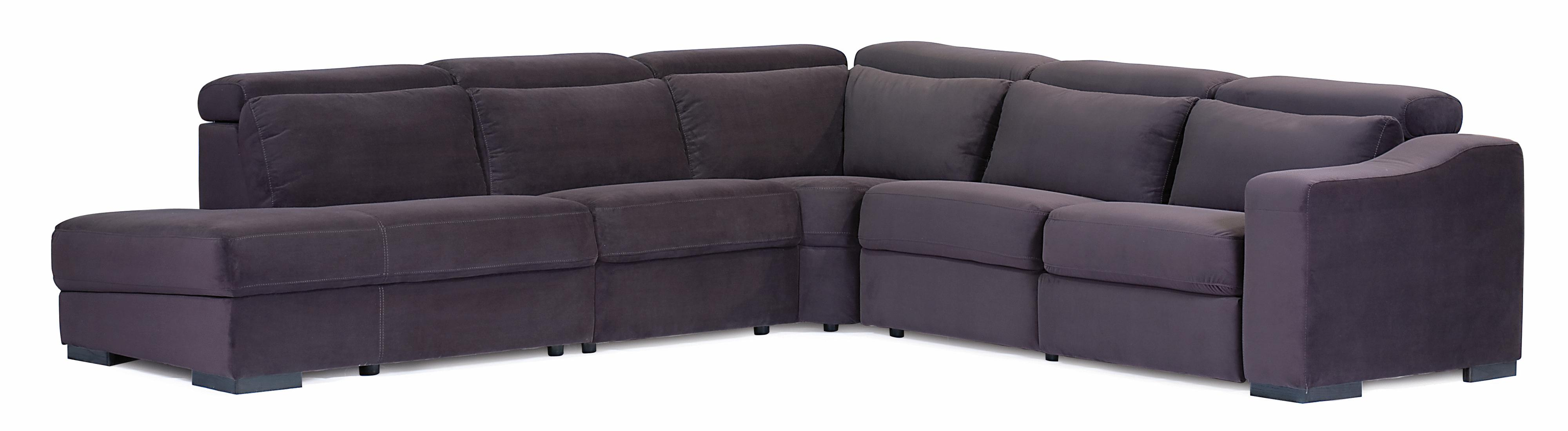 Palliser cortez ii stationary left hand facing 5 pc for 5 pc sectional sofas