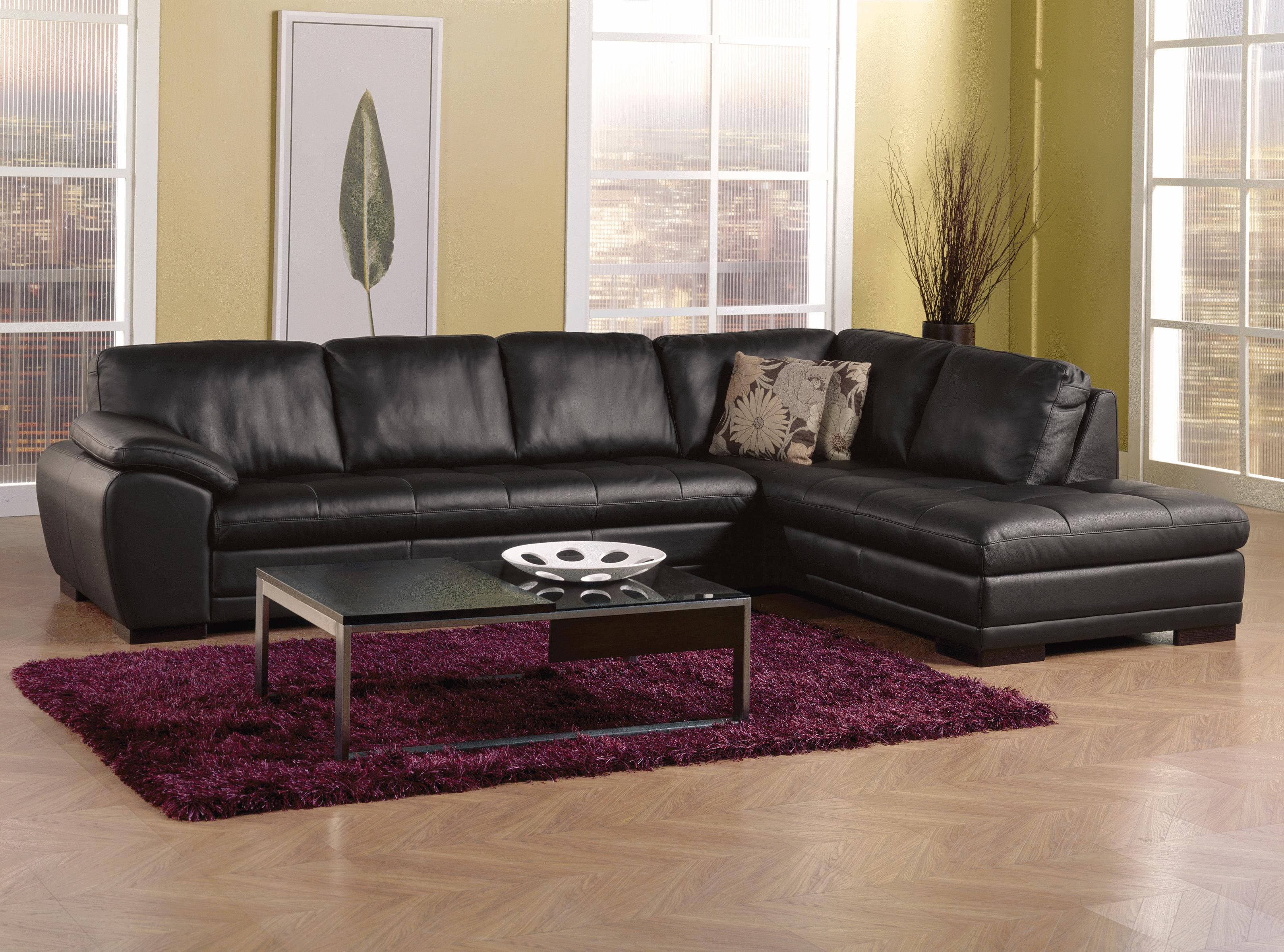 Palliser Miami Contemporary 2 Piece Sectional Sofa With