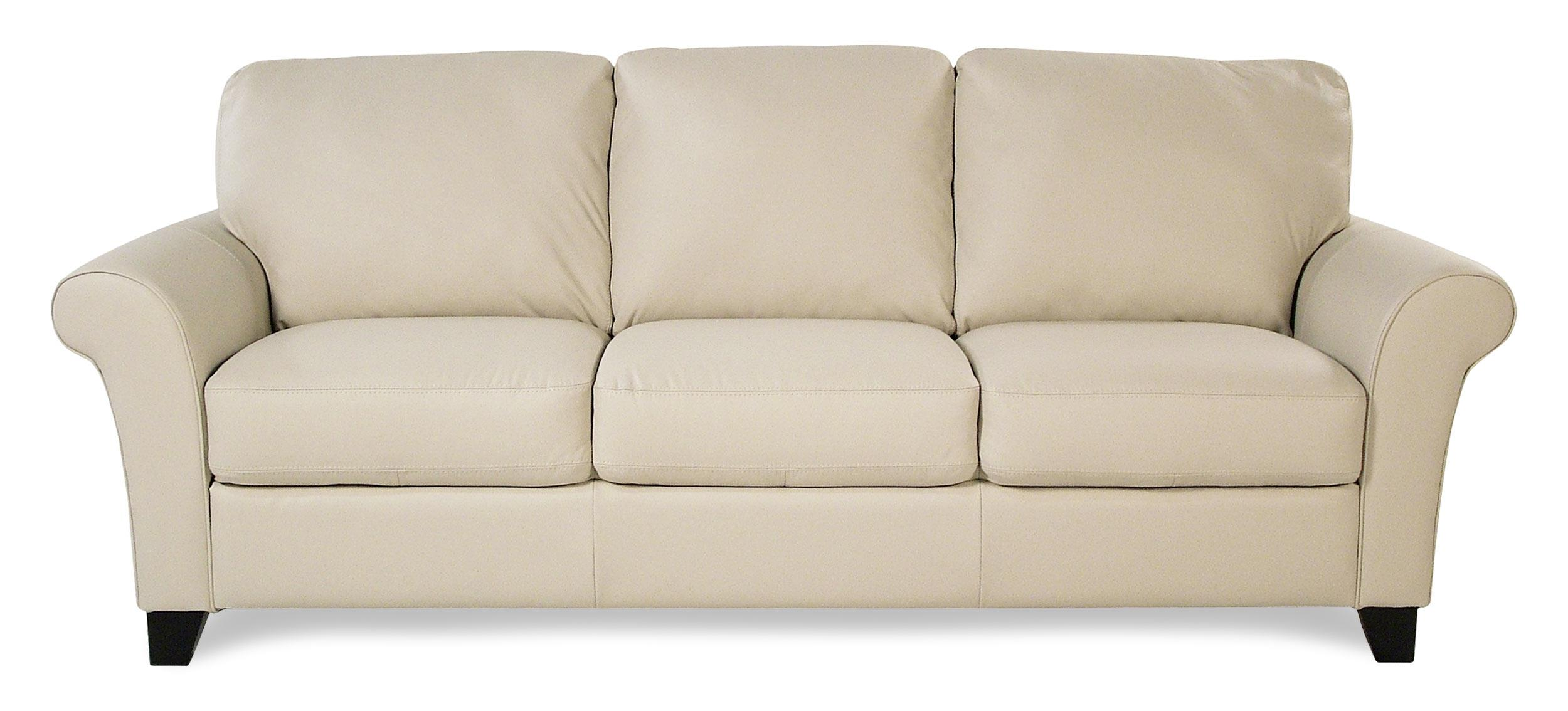 Katahdin transitional sofa with flared arms rotmans for Furniture 77429