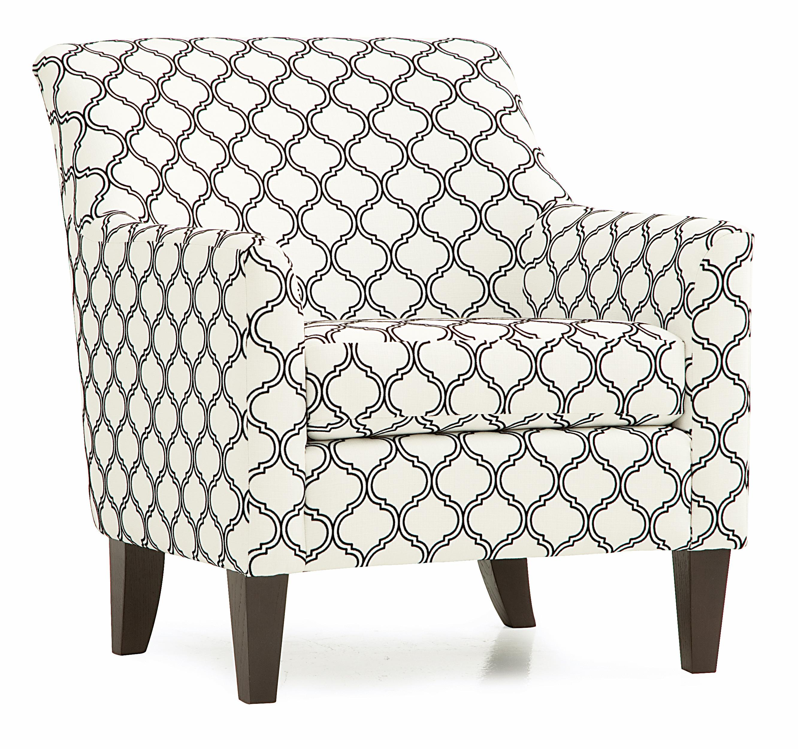 palliser somerset contemporary accent chair with flair. Black Bedroom Furniture Sets. Home Design Ideas