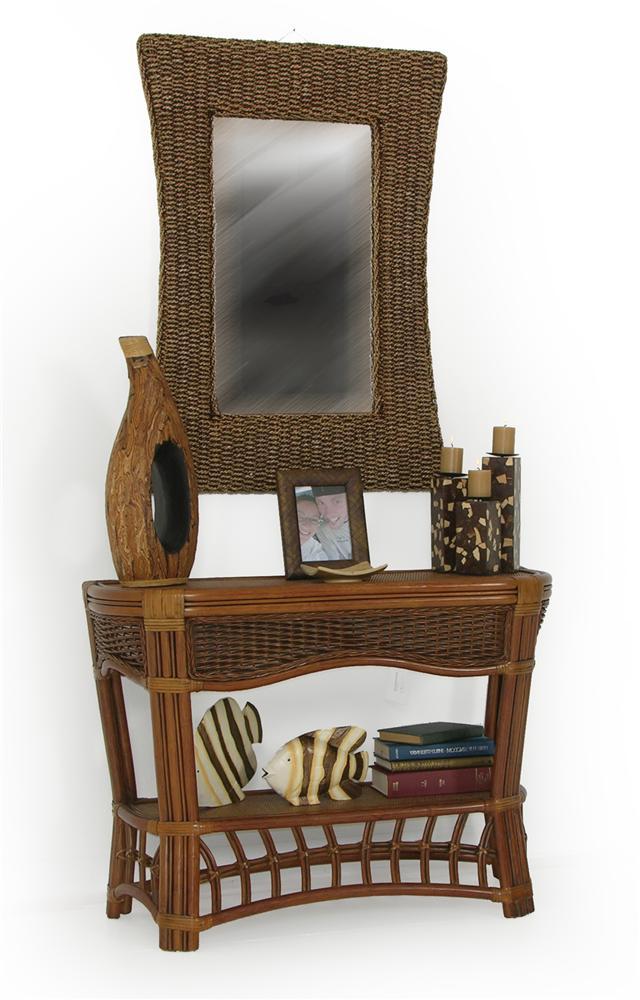 Islamorada Sofa Console Table by Palm Springs Rattan