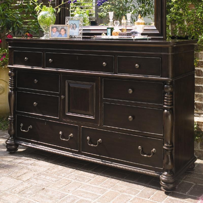 Paula deen by universal paula deen home door dresser with for Paula deen bedroom furniture
