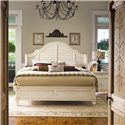 Paula deen by universal paula deen home queen steel Paula deen steel magnolia bedroom suite