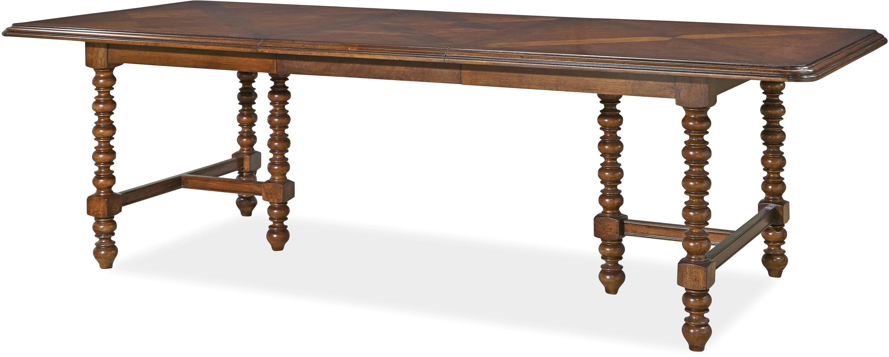 Fabulous Paula Deen Darling Darling Double Pedestal Dining Table | Morris  PU58
